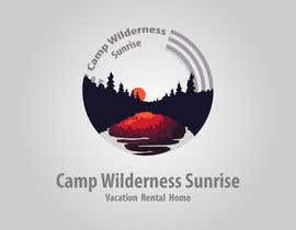 #80 cho Logo Design for Camp Wilderness Sunrise bởi WebofPixels