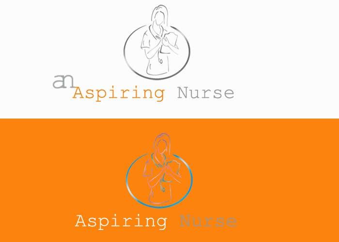Kilpailutyö #                                        45                                      kilpailussa                                         Logo design for aspiring nurse