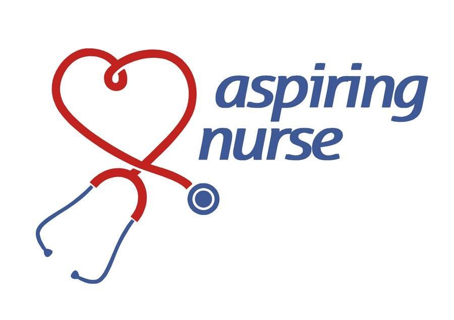 Kilpailutyö #                                        127                                      kilpailussa                                         Logo design for aspiring nurse