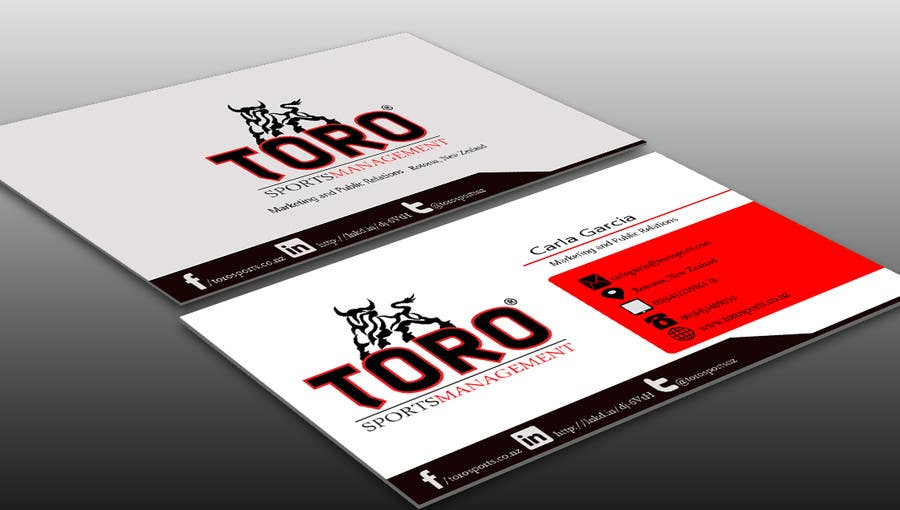 Penyertaan Peraduan #                                        11                                      untuk                                         Design a Business Cards for a Sports Company