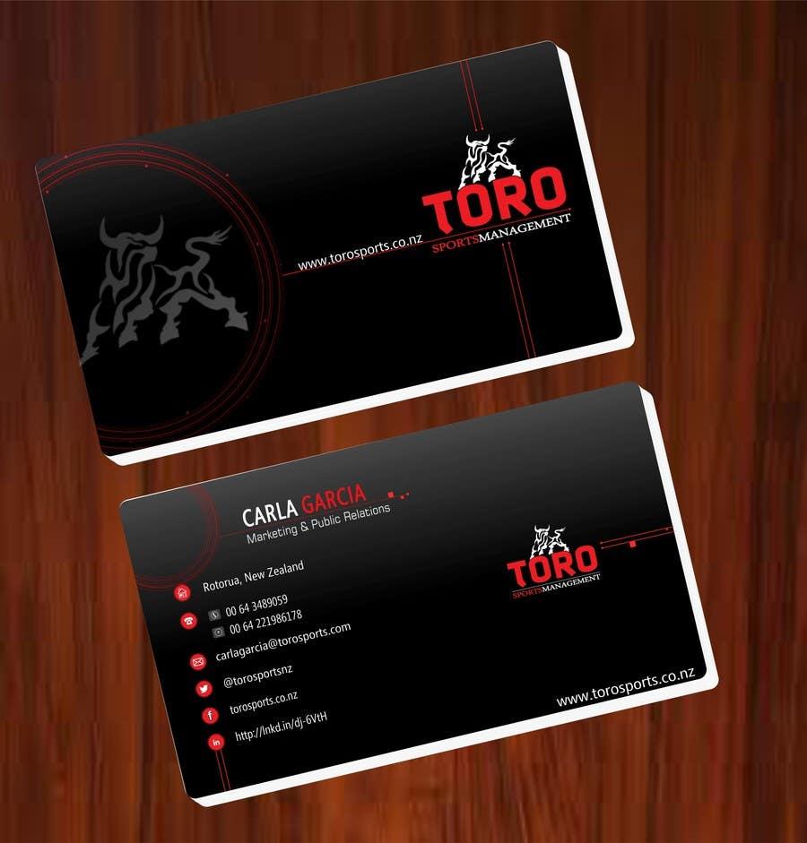 Penyertaan Peraduan #                                        35                                      untuk                                         Design a Business Cards for a Sports Company