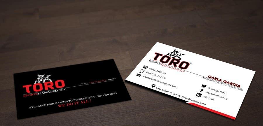 Penyertaan Peraduan #                                        13                                      untuk                                         Design a Business Cards for a Sports Company