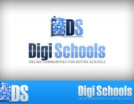 #16 para Logo Design for DigiSchools por baloulinabil