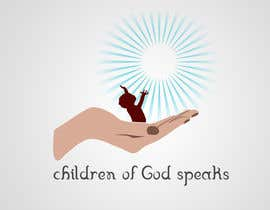 #105 para Logo Design for www.childrenofgodspeaks.com por arunstudios