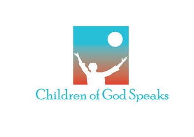 #89 para Logo Design for www.childrenofgodspeaks.com por paxslg