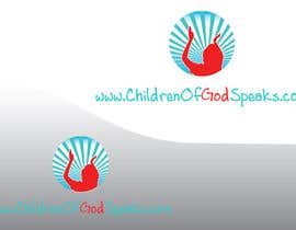 #110 para Logo Design for www.childrenofgodspeaks.com por nackamarko7