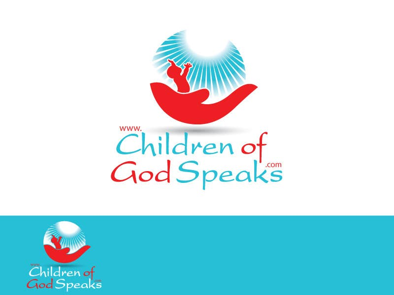 Конкурсная заявка №75 для Logo Design for www.childrenofgodspeaks.com