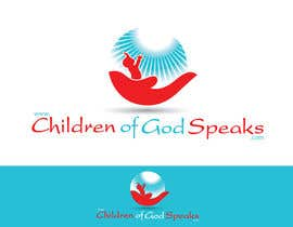 #74 for Logo Design for www.childrenofgodspeaks.com by SUBHODIP02