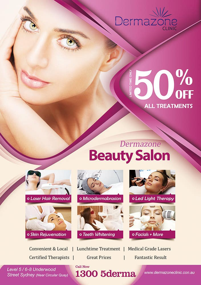 Contest Entry 39 For Design A Flyer Beauty Salon