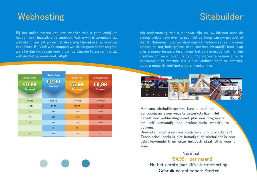 Penyertaan Peraduan #                                        10                                      untuk                                         Design a Flyer for hosting company