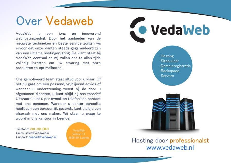 Penyertaan Peraduan #                                        20                                      untuk                                         Design a Flyer for hosting company