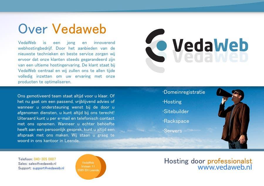 Penyertaan Peraduan #                                        27                                      untuk                                         Design a Flyer for hosting company