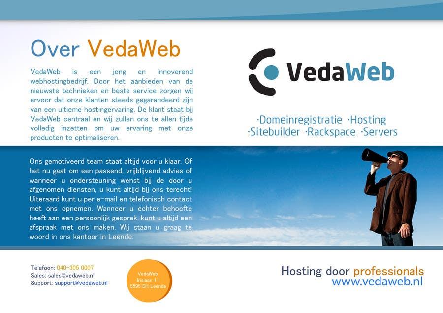Penyertaan Peraduan #                                        28                                      untuk                                         Design a Flyer for hosting company
