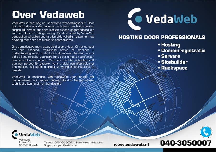 Penyertaan Peraduan #                                        12                                      untuk                                         Design a Flyer for hosting company