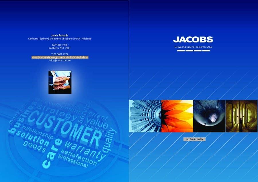 Konkurrenceindlæg #                                        1                                      for                                         Brochure Design for Jacobs Australia
