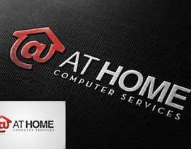 #143 untuk Logo Design for At Home Computer Services oleh flov