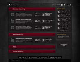 #26 for Forum Board Design for Ghostmarket by wademd