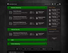 #28 para Forum Board Design for Ghostmarket por wademd
