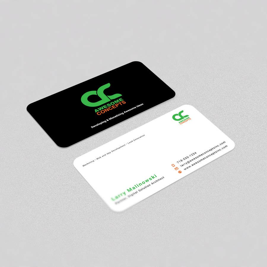 Entry 13 By Alvinfadoil For Design Eye Catching Business Card