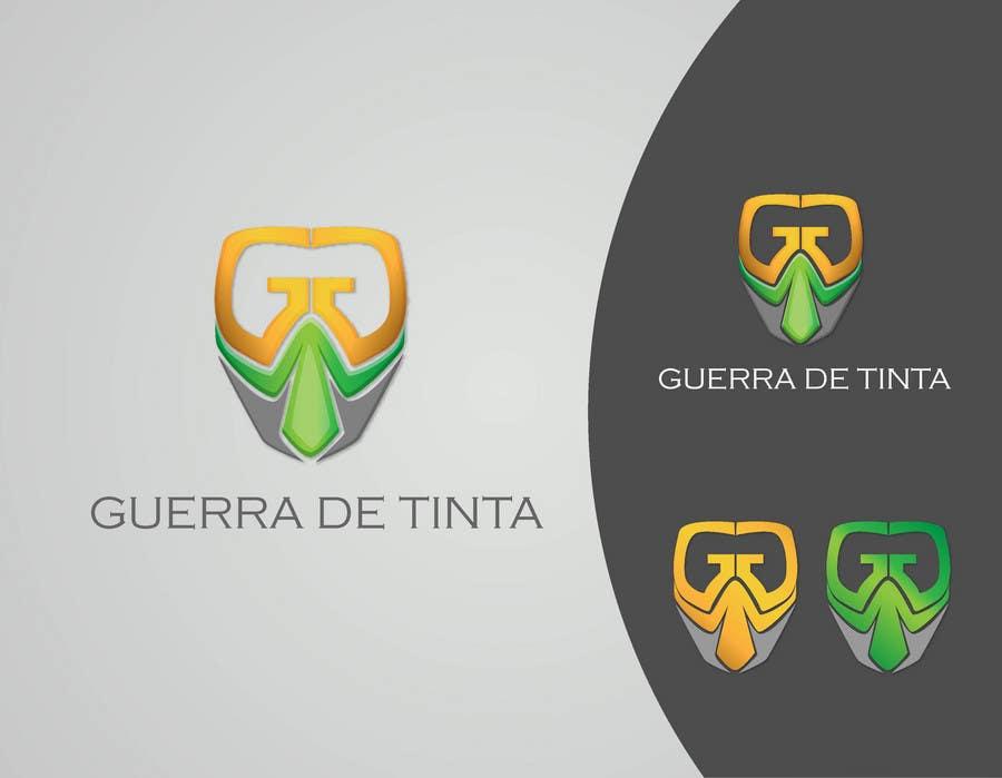 Inscrição nº                                         31                                      do Concurso para                                         Logo Design for Guerra de Tinta