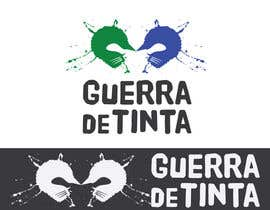 #244 for Logo Design for Guerra de Tinta by misutase