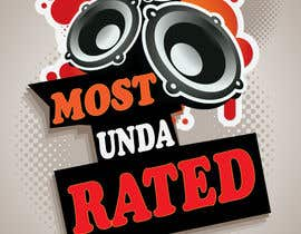 "#9 untuk Design a Logo for ""Most Unda Rated"" oleh sammyali"