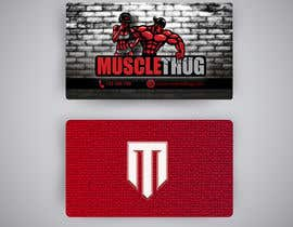 #19 для Design some Business Cards for Muscle Thug от Rose103