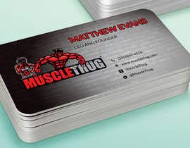 #36 для Design some Business Cards for Muscle Thug от LIPScreations