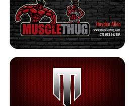 #37 для Design some Business Cards for Muscle Thug от Hallen508