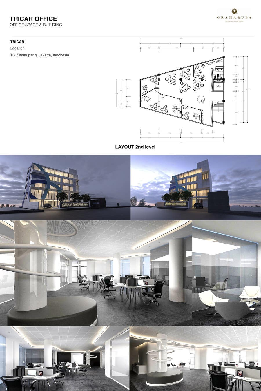 Small Office Building Architecture And Interior Design