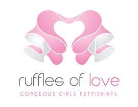 nº 189 pour Logo Design for Ruffles of Love par Ferrignoadv
