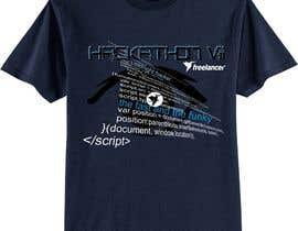 #161 untuk Design a T-Shirt for the Freelancer.com Hackathon !! oleh takackrist
