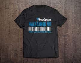 #209 untuk Design a T-Shirt for the Freelancer.com Hackathon !! oleh milanchakraborty