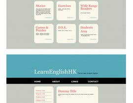 #67 for Wordpress Theme Design for Teaching English by christarad