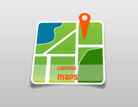 Smartdotsteam tarafından Graphic Design for Campus Maps (iTunes Art) için no 61
