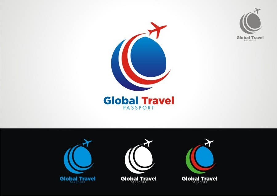 Konkurrenceindlæg #392 for Logo Design for Global travel passport