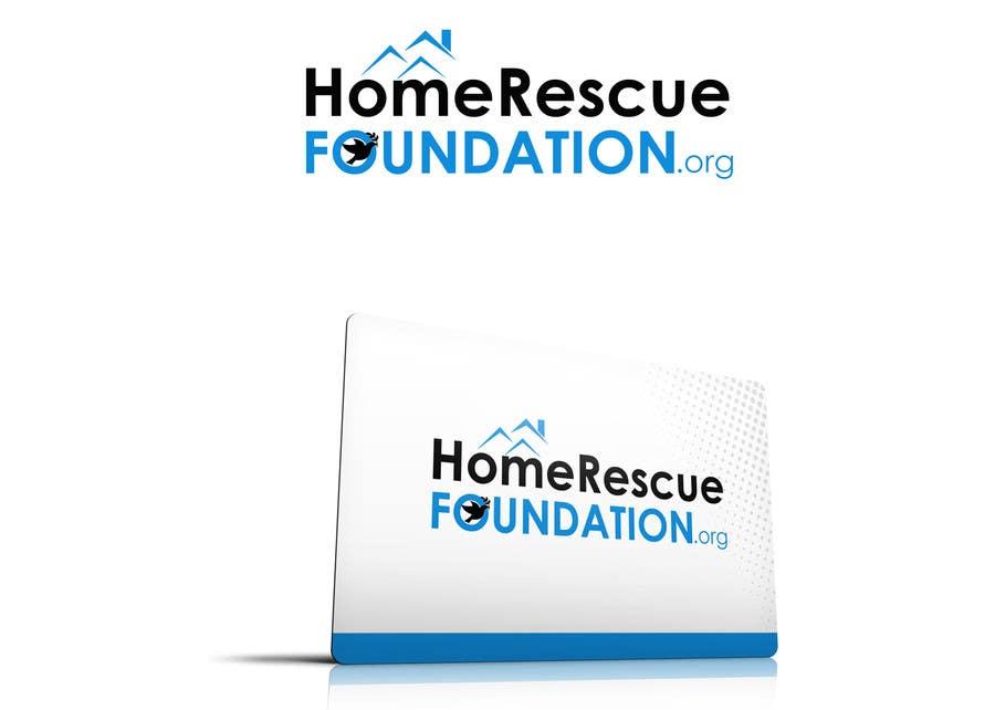 Penyertaan Peraduan #                                        33                                      untuk                                         Design a Logo for HOMERESCUEFOUNDATION.ORG