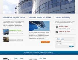 creative123411 tarafından Design a Website Mockup for Residential Builder / Real Estate Developer için no 23