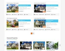 manish973 tarafından Design a Website Mockup for Residential Builder / Real Estate Developer için no 24