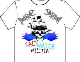 #3 for T-shirt Design for SALTWATER MILITIA af jayupadhyay