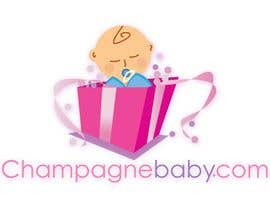 #87 , Logo Design for www.ChampagneBaby.com 来自 Grupof5