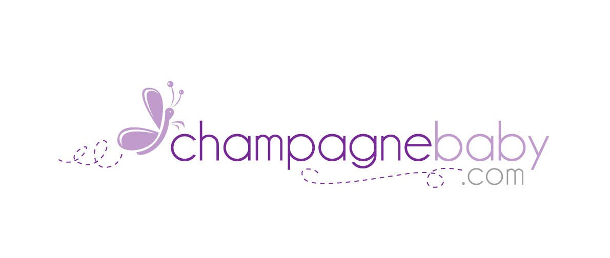 Конкурсная заявка №26 для Logo Design for www.ChampagneBaby.com