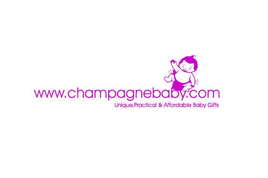 Contest Entry #109 for Logo Design for www.ChampagneBaby.com