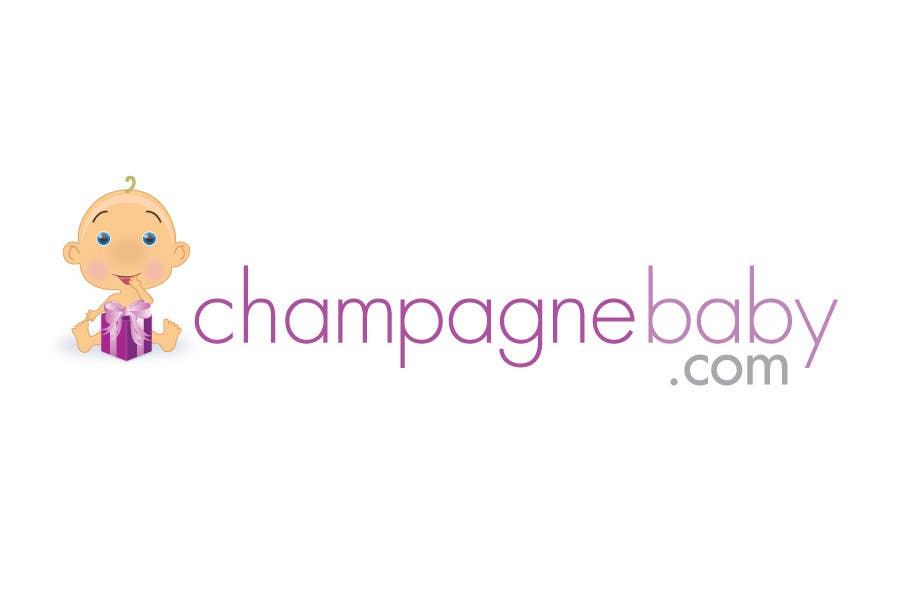 Конкурсная заявка №117 для Logo Design for www.ChampagneBaby.com
