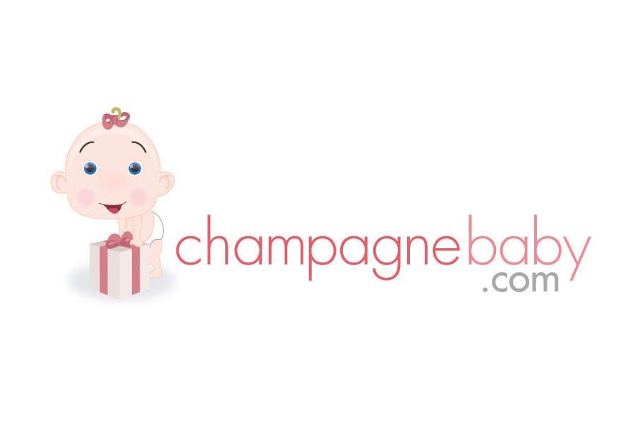 Конкурсная заявка №103 для Logo Design for www.ChampagneBaby.com