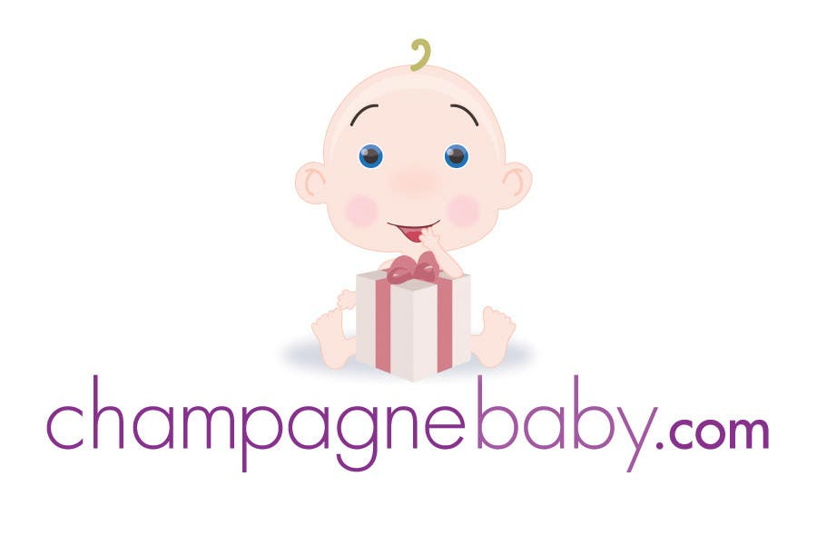 Конкурсная заявка №47 для Logo Design for www.ChampagneBaby.com