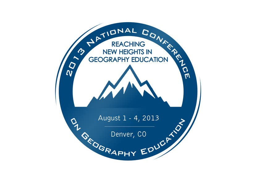 Proposition n°                                        35                                      du concours                                         Graphic Design for 2013 National Conference on Geographic Education