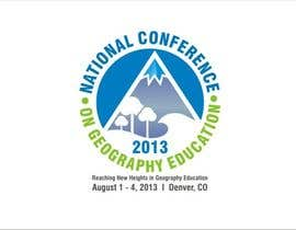 nº 39 pour Graphic Design for 2013 National Conference on Geographic Education par sharpminds40