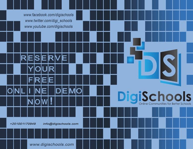 #23 for Brochure Design for DigiSchools by GraphicsStudio