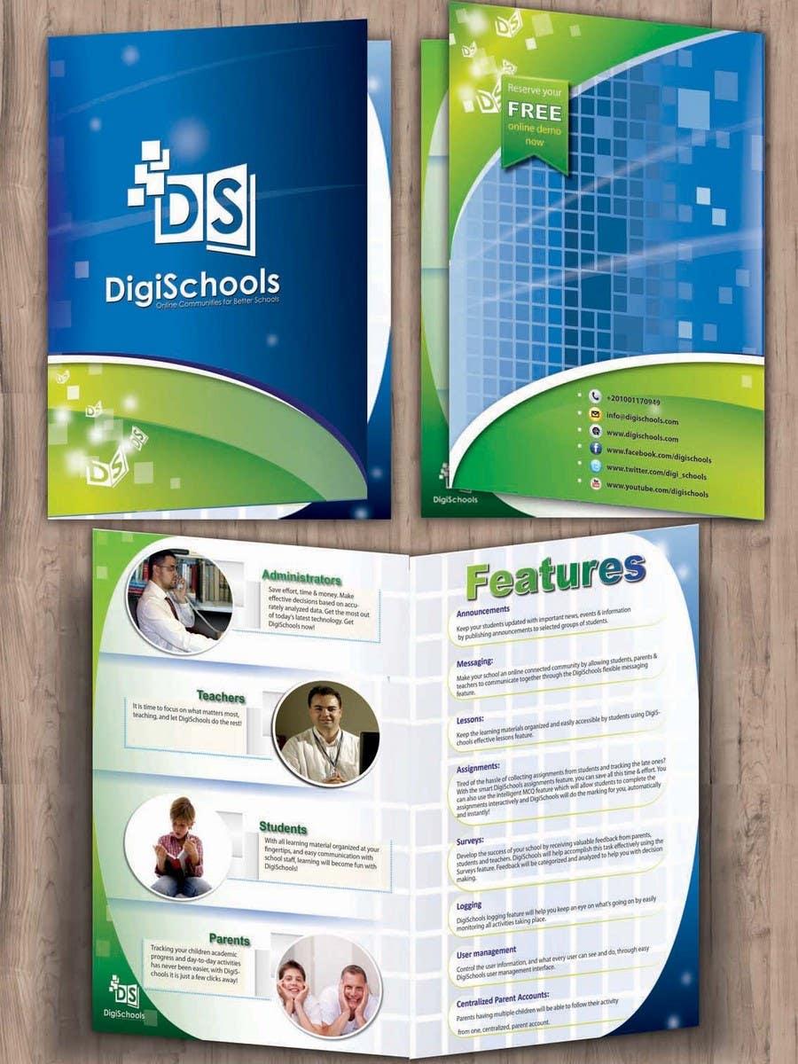 Konkurrenceindlæg #                                        53                                      for                                         Brochure Design for DigiSchools
